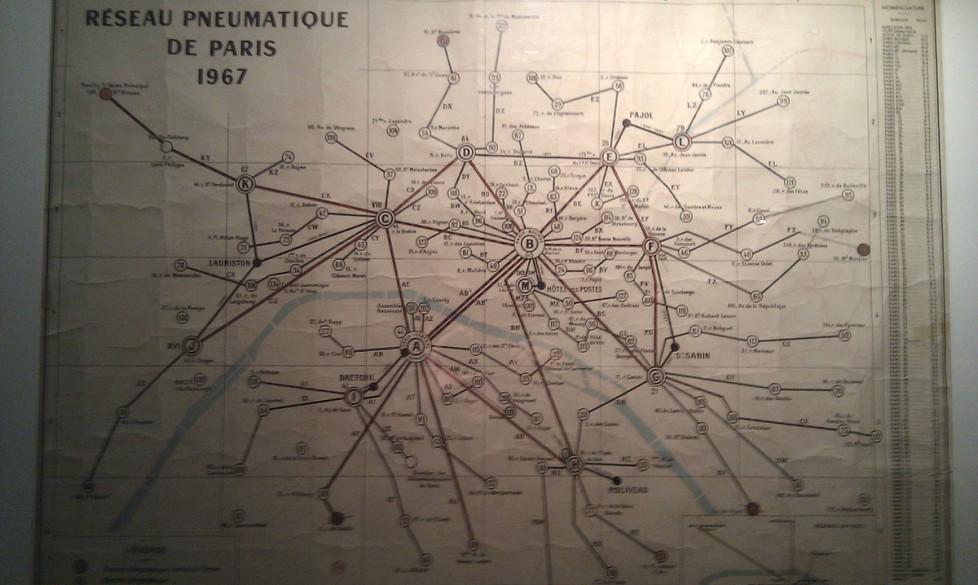Réseau pneumatique de Paris