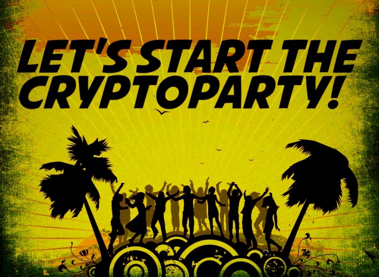Let's start the cryptoparty by xp0s3-d5c7ryi