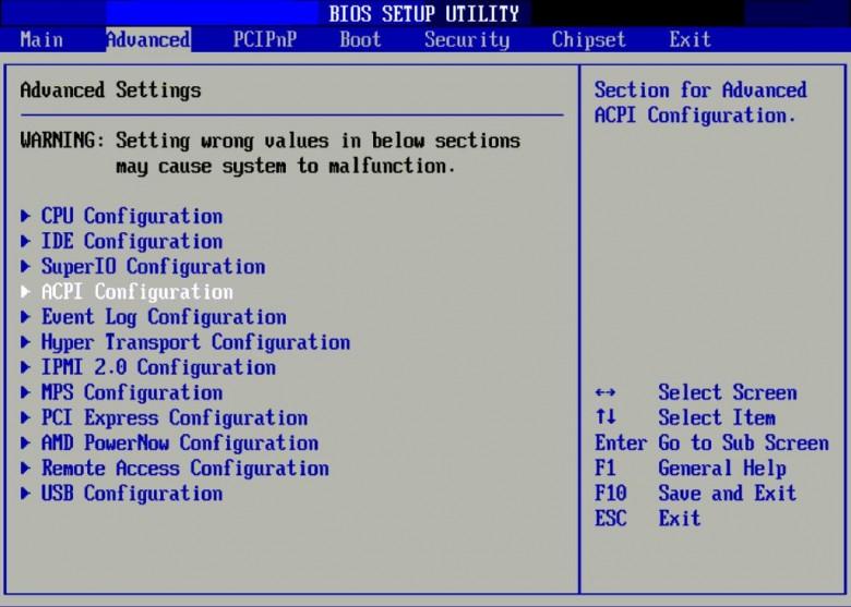 Le BIOS : un écran bleu et gris, mais faut as avoir peur, il suffit de suivre les instructions